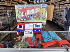 Vintage 1973 Ideal Evel Knievel Scramble Van with Box and Accessories
