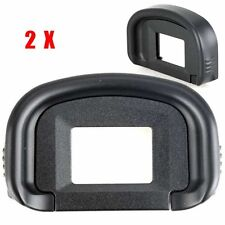 2X Rubber EyeCup Eye Cup Eyepiece For Canon EG 5D Mark III 5D3 7D II 1DX 1Ds III