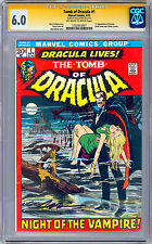 TOMB OF DRACULA #1 CGC-SS 6.0 GENE COLAN & GERRY CONWAY *SIGNED NEAL ADAMS* 1972