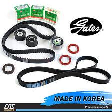Gates HTD Timing Belt Kit w/ V-Belt 04-08 Suzuki Forenza Reno 2.0L A20DMS