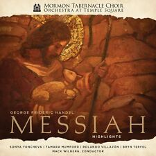 Mormon Tabernacle Ch - Handel's Messiah - Highlights [New CD]