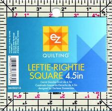 EZ Quilting Patch da Cucire Lavoro leftie-rightie QUADRATO 4.5IN