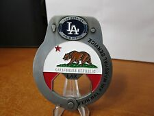 Federal Air Marshal FAM Los Angeles Field Office Handcuff Challenge Coin