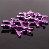 Purple Aluminum Front & Rear Lower Suspension Arm 108019&108021 HSP 1/10 RC Car