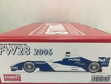 1/20 Studio 27 studio27 st27 Williams Cosworth FW28 F1 Grand Prix GP mfh hiro