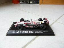 Lola ford t93 nigel mansell #5 miles indianapolis 500 indycar 1993 ixo 1/43