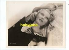 JEAN CHATBURN ORIGINAL 8x10 PHOTO BY WILLINGER AT MGM 1930's