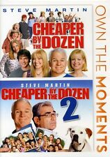 Cheaper by the Dozen/Cheaper by the Dozen 2 DVD Region 1 WS