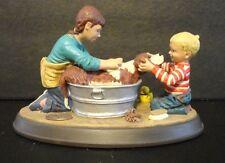 "Norman Rockwell's ""Splish Splash"" figurine"