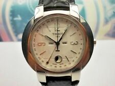 RELOJ TISSOT 1853 TRIPLE POINTER  MOONPHASE QUARTZ CABALLERO MEN'S WATCH-BOX