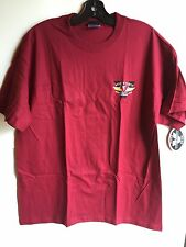 Victory Polaris Short Sleeve T-shirt In Maroon (Size L) NWT