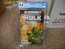 Incredible Hulk 438 cgc 9.8 Marvel 1996 WHITE pgs NM MINT movie Avengers Medina