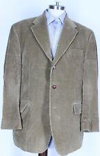 LAUREN RALPH LAUREN Tan Corduroy Sport Coat 3 Button Blazer Men's 44 R