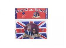 12ft Prince Harry & Meghan 2018 Royal Wedding Commemorative Rayon Bunting Flags