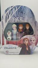 NEW Disney Frozen 2 PEZ Limited Edition Tin Gift Set- Elsa, Anna, Olaf, Kristoff