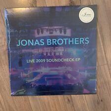 Jonas Brothers Members Live 2009 Soundcheck EP Deluxe Pink Vinyl LP Rare