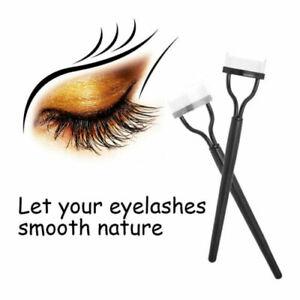 2 pcs Makeup Eyelash Metal Brush Comb Lash Separator Mascara Lift Curl To
