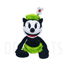 "Disney Parks Oswald The Lucky Rabbit Ortensia the Cat 9"" Plush NEW FREE SHIPPING"