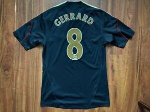 LIVERPOOL FOOTBALL SHIRT 2009-2010 ORIGINAL JERSEY #8 GERRARD SIZE S