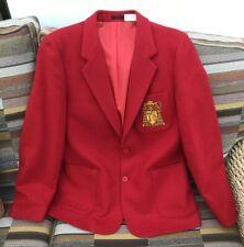 "St John's College Cardiff School Blazer 36"", Very Good Condition, 100% Wool"