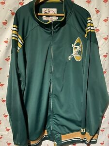 Green Bay Packers Mitchell Ness Throwback 64 5XL Limited Zipper Jacket A3044