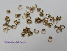Bead Tip - gold filled - Lot of 50 - 3mm x 5mm