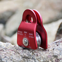 Mini 20KN Single Pulley with Swing for Rock Tree Climbing Hauling Rigging System