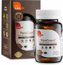 Zahler ParaGuard Advanced Intestinal Support for Humans Contains Wormwood 90Gels