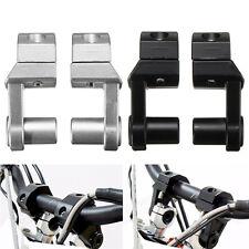 "7/8'' & 1-1/8"" Universal 2Inch Pivoting Manillar Torretas para BMW Yamaha Suzuki"
