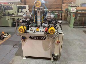 Nemegeer Knob Sanding Machine, Copy Sander, 3 Phase, Pneumatic £2000 +VAT