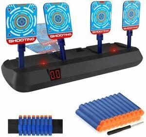 Digital Target for Nurf Gun Toy Kids Electric Scoring Auto Reset Shooting Dart