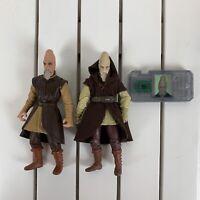 """Star Wars Ki-Adi-Mundi Lot Revenge Of The Sith ROTS Action Figure 3.75"""" Hasbro"""