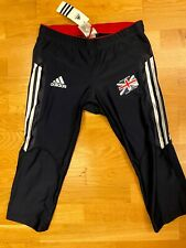 Womens Adidas Official Athletics Team GB World Champs 3/4 Length Tights UK-16