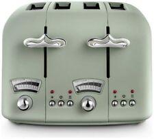 De'longhi Cto4.gr ARGENTO Flora Toaster Electronic Controls Reheat Green