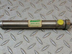 """DAYTON SPEEDAIRE 6W122 PNEUMATIC CYLINDER STAINLESS STEEL 4"""" STROKE"""