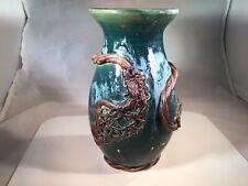 Vintage MAY WRIGHT California Art Pottery Ceramic Vase - Signed & Marked