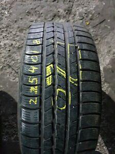 1xNexen Winguard Sport 225 40 18 92V 5-6mm E20  Winter Partworn car tyre
