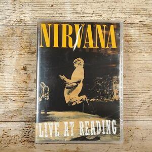 Nirvana - Live At Reading August 30th1992 Reading Festival (DVD, 2009) Region 0
