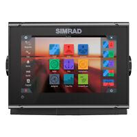 Simrad GO7 XSR Chatplotter Fishfinder with C-MAP PRO Charts 000-14078-001