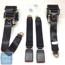 93-02 GM F Body Front Seat Belts Set Single Retractor Style In 7 Panel Webbing