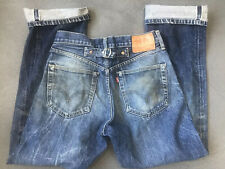 Vintage Levis 702 501 XX Big E Redline Selvage  Buckle Back Reproduction 29x36