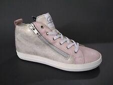 New $120 Vado Kids Girls Shoes Sneaker Narrow Zipper Leather Sz 1 Usa/32 Euro