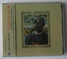 KING CRIMSON – Level Five JAPAN CD RAR! PCCY-01576