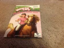 (NO GAME) Horse Life Adventures Manual Instruction Book Wii