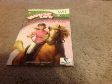 Horse Life Adventures Manual Instruction Book Wii