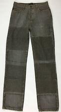 Just Cavalli jeans uomo w32 tg 46 gamba dritta boyfriend grigio denim usato T650