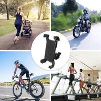 Neu Universal Motorrad Fahrrad MTB Lenkerhalterung Halter für Handy GPS Schwarz