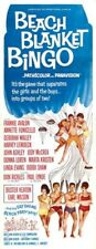 BEACH BLANKET BINGO MOVIE POSTER Buster Keaton 14x36 in