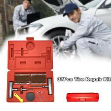 37Pcs Professional Tire Repair Tool Kit Plug Flat&Puncture Repair Tools Kit -Usa(Fits: Badger Fwd)