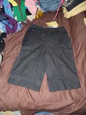 """Ladies blue capri jeans size small,QVS Susan G women,pants,""""NOS"""""""